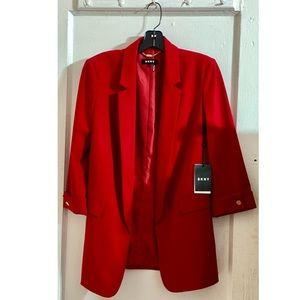 DKNY Red Blazer